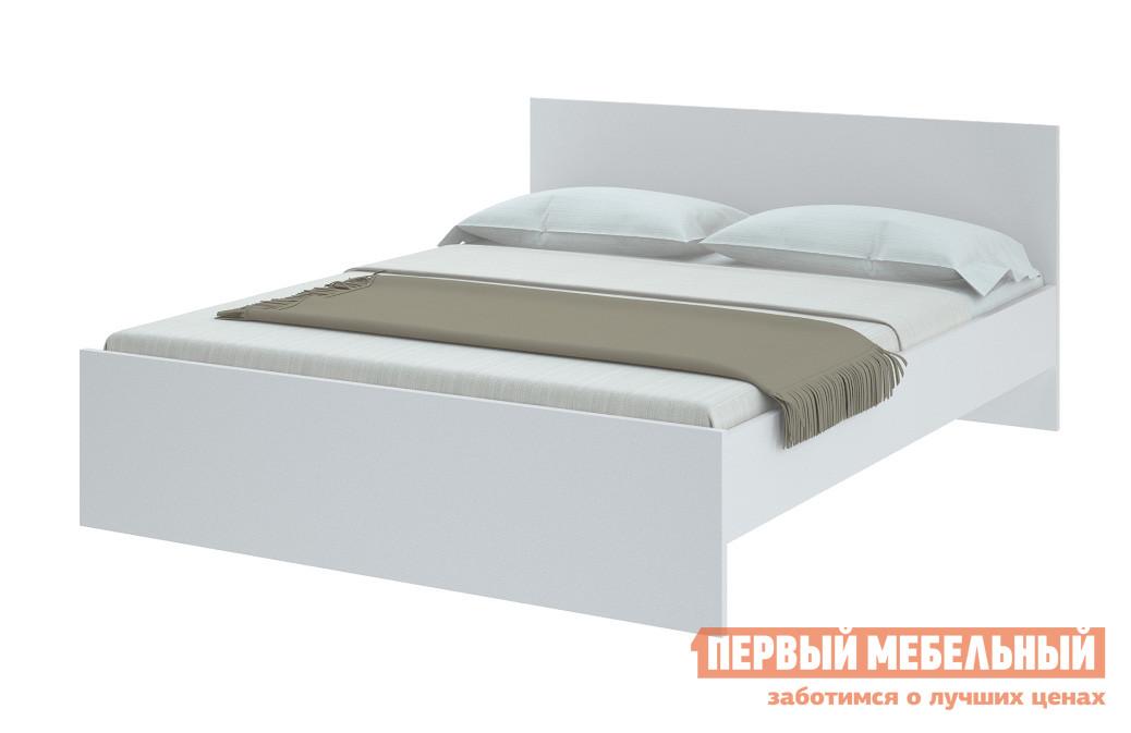 Кровать НКМ Ральта Белый, 1600 Х 2000 мм, С основанием
