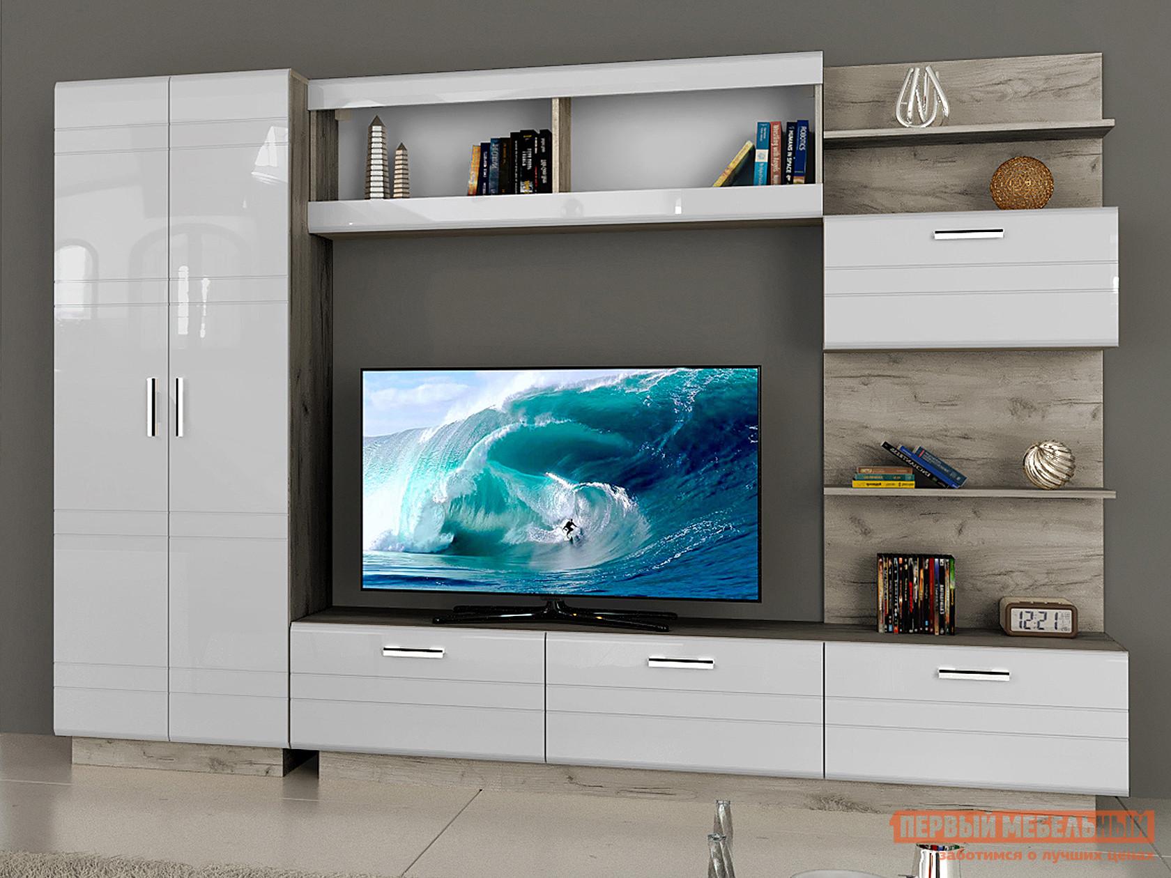 Стенка для гостиной НК-Мебель Никс-1 мебель для гостиной