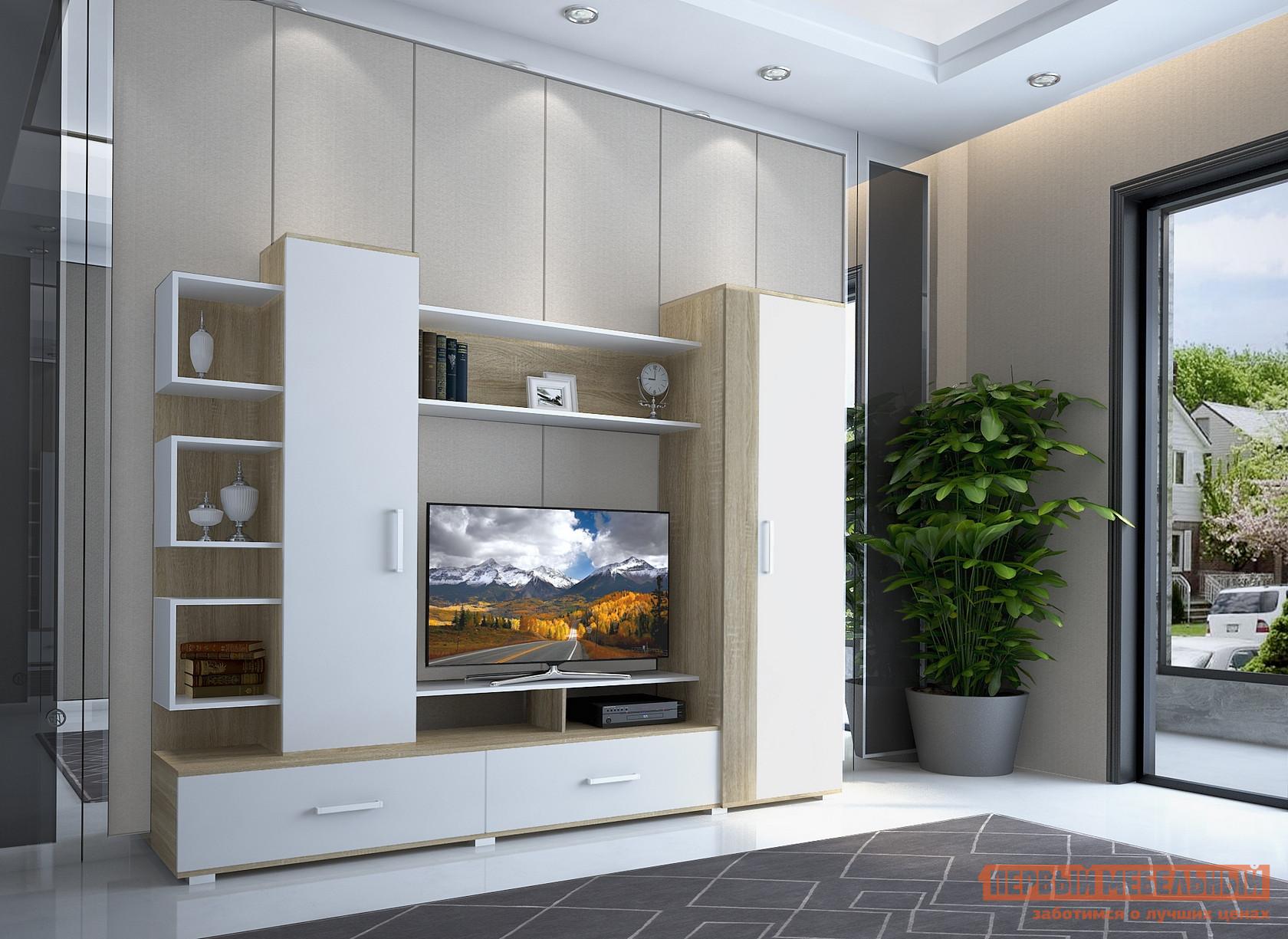 Стенка для гостиной НК-Мебель Лаверна стенка для гостиной мебель трия саванна гн 234 007