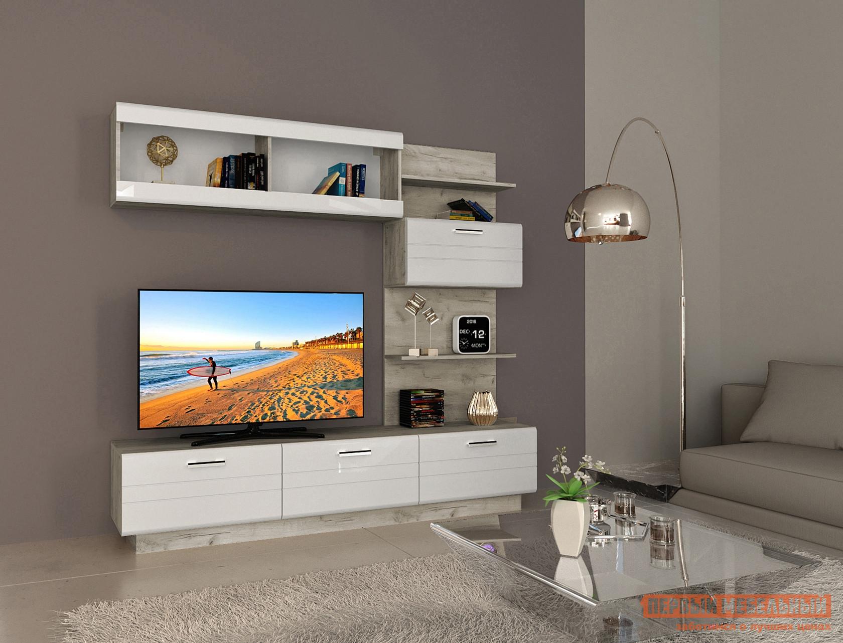 Стенка для гостиной НК-Мебель Никс стенка для гостиной мебель трия саванна гн 234 007