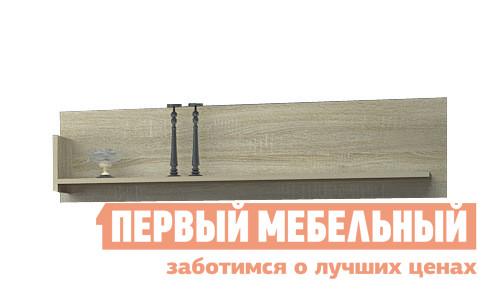 Настенная полка НК-Мебель Верди П шкаф витрина нк мебель верди в