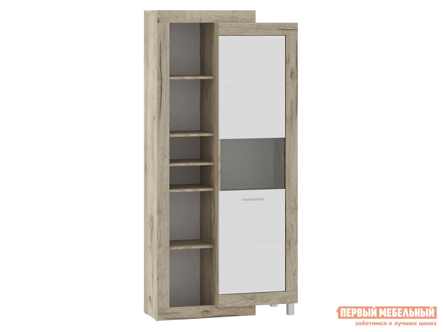 Шкаф-витрина Первый Мебельный 71280122 ГЕНЕЗИС шкаф-сервант
