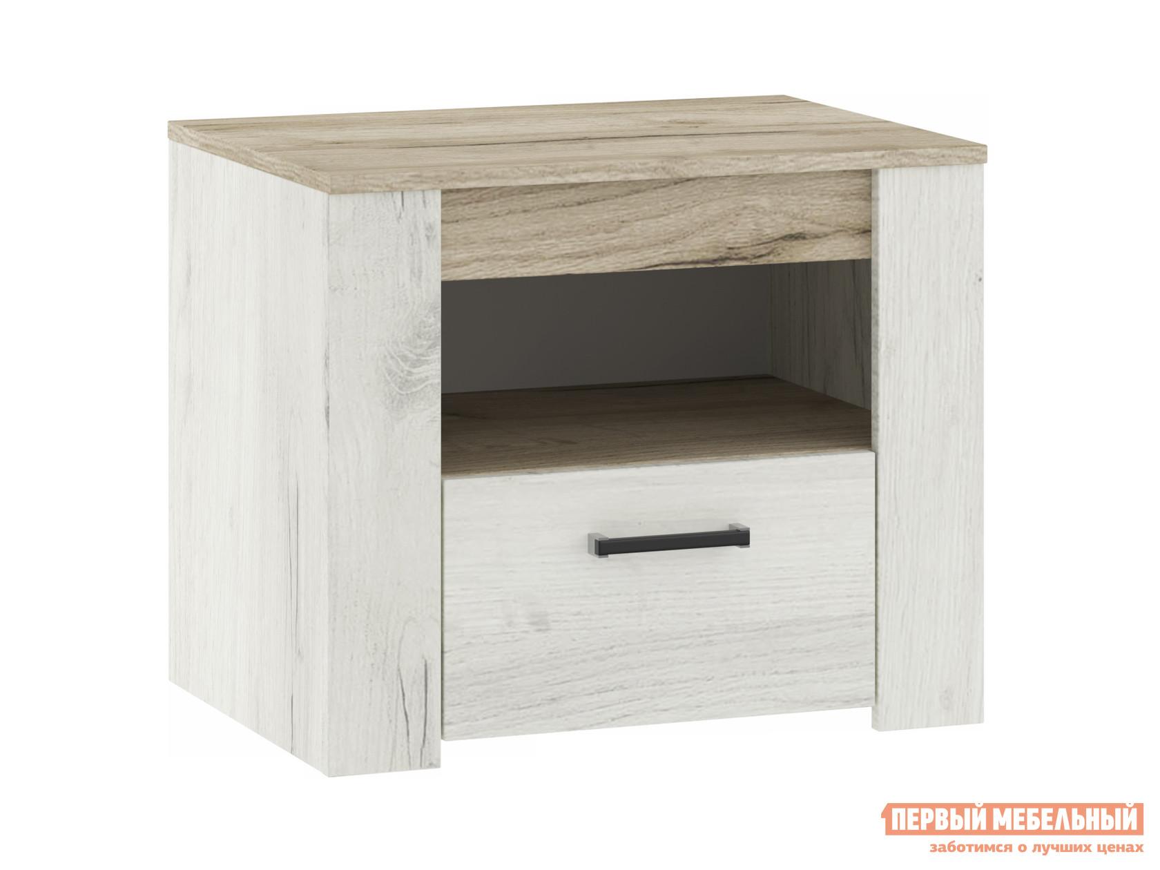Прикроватная тумбочка НК-Мебель ПРАГА тумба прикроватная 72030099