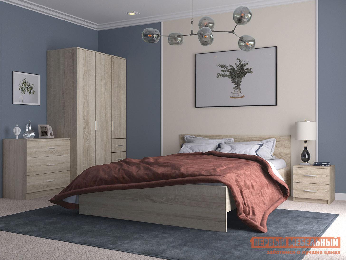 Спальный гарнитур НК-Мебель Комплект мебели для спальни Тиберия К2