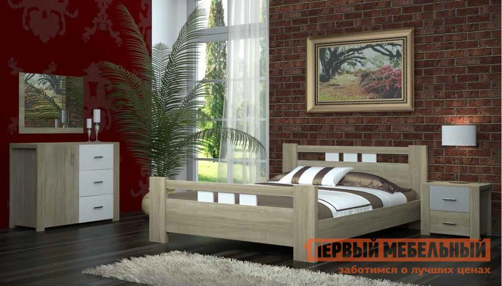 Спальный гарнитур НК-Мебель Ломбардо Сп шкаф распашной нк мебель ломбардо ш 4