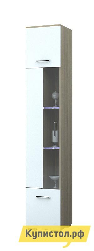 Шкаф-витрина НК-Мебель Верди В шкаф распашной нк мебель летиция шкаф к1