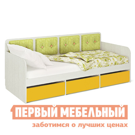 Детская кровать МСТ Умка мод. 2 + мод.1.1/2.1