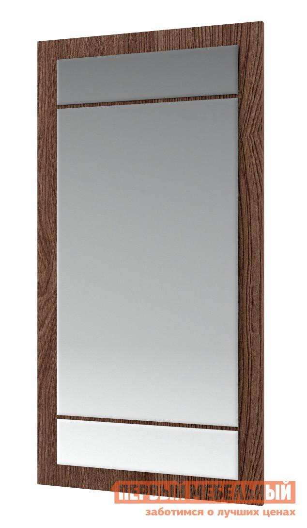 Настенное зеркало МСТ Диана модуль 2 (зеркало) Ясень Шимо темный