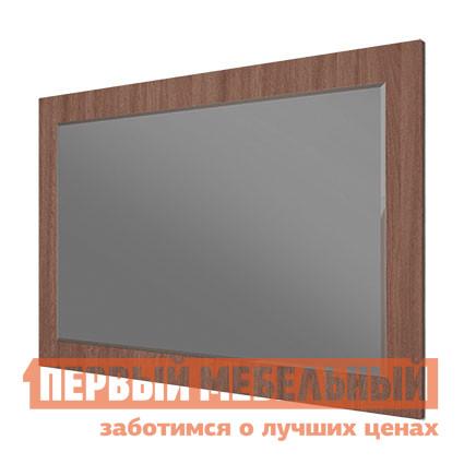 Настенное зеркало МСТ Город модуль 13 (зеркало) Ясень Шимо темный