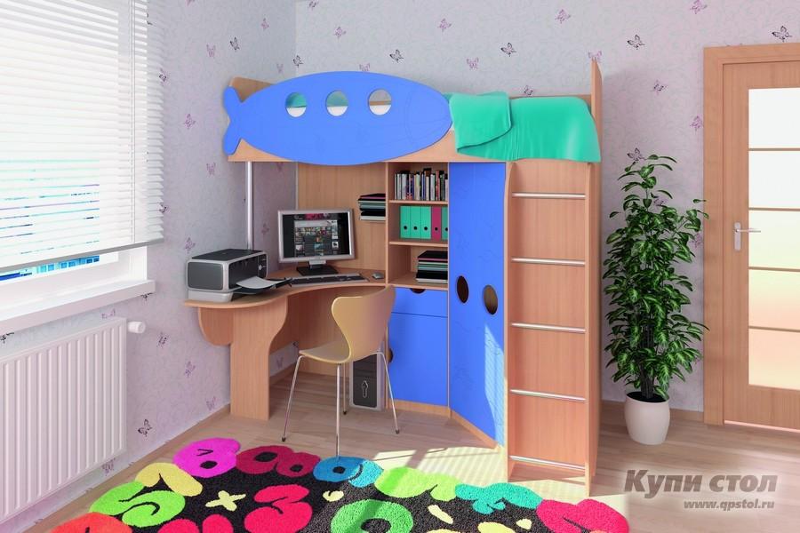 Кровать Детский комплекс «Юнга» КупиСтол.Ru 19310.000