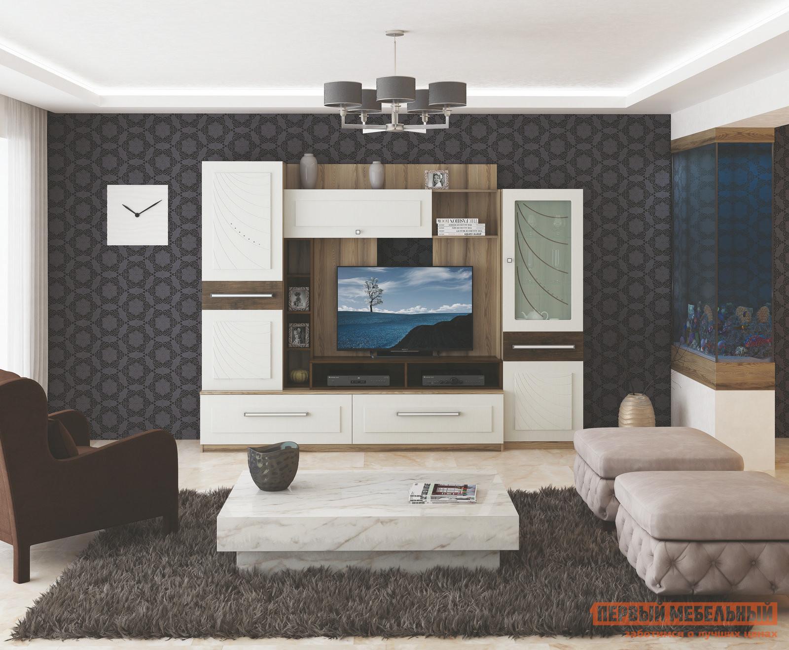 Гостиная МСТ Фиеста К1 спальный гарнитур трия саванна к1