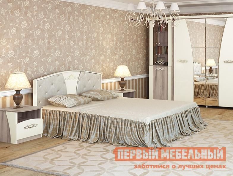 Полуторная кровать МСТ Натали мод.1 Кровать 1.4 полуторная кровать витра 95 02 ок2