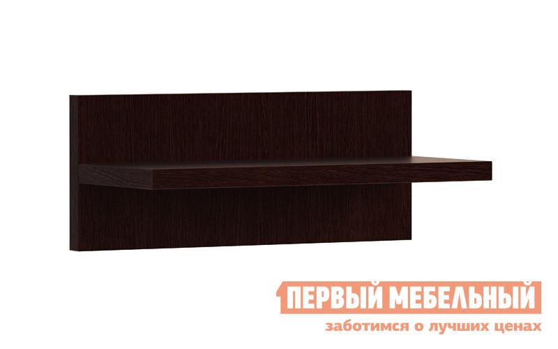 Настенная полка МСТ Сенатор мод.  9 (Полка навесная) Дуб венге