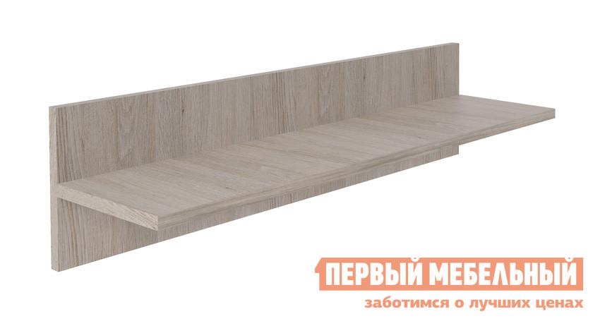 Настенная полка МСТ София Модуль №12 Дуб Сантана Светлый