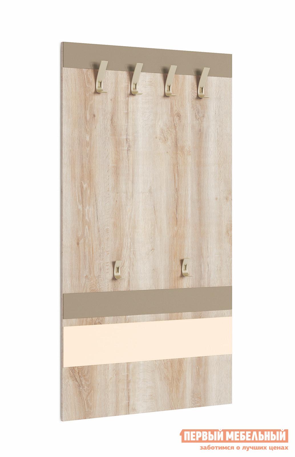 Настенная вешалка МСТ Прованс мод № 13 Сакраменто темный / Сакраменто светлый / Слоновая кость / Мокко