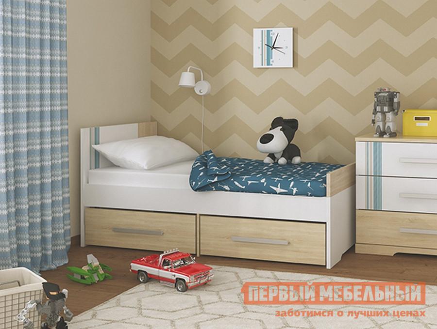 Детская кровать МСТ Лион модуль 1 + Лион модуль 2 лион детская з п клиника мята 130г 147879