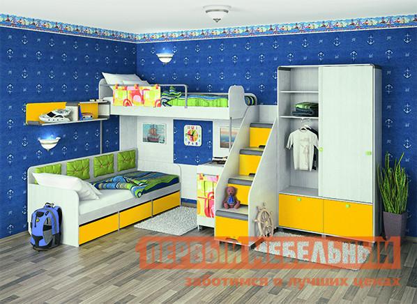 Комплект детской мебели МСТ Умка К1 спальный гарнитур трия саванна к1