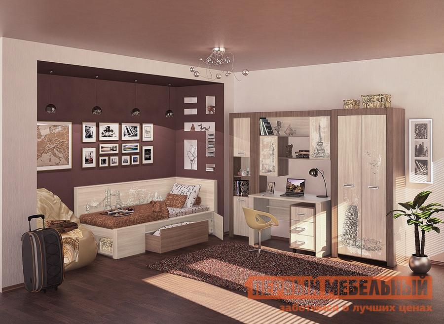 Комплект детской мебели МСТ Город К1 спальный гарнитур трия саванна к1