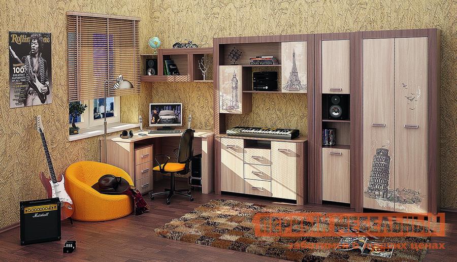 Комплект детской мебели МСТ Город К3 комплект офисной мебели pointex свифт к3 темный