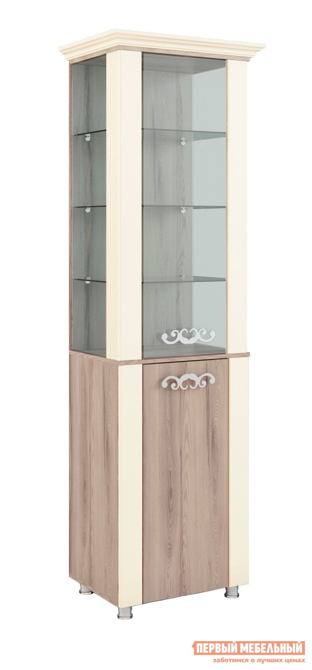 Шкаф-витрина МСТ Натали Шкаф-витрина мод.8 шкаф витрина мебель смоленск шк 07