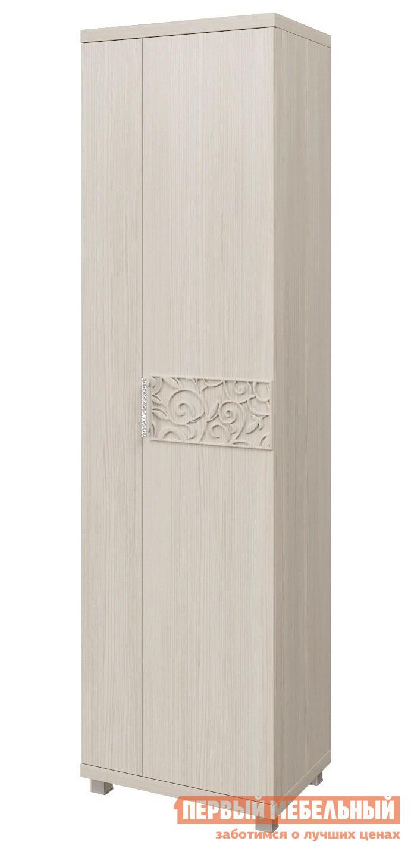 Шкаф распашной Арника 13 «Ирис» Шкаф для одежды Дуб бодега Арника Габаритные размеры ВхШхГ 2210x604x452 мм. Элегантный шкаф для одежды.  Идеально подойдет для не очень большой прихожей.  Шкаф входит в модульную серию мебели для прихожей «Ирис», сочетая элементы которой, можно составить функциональный и стильный комплект. <br>Шкаф универсальный: дверь можно навесить как на правую, так и на левую сторону. <br>Уникальность данной серии «Ирис» заключается в использовании нового декора плиты ЛДСП – «Дуб Тортона» в сочетании с оригинальными орнаментом на вставках из МДФ.