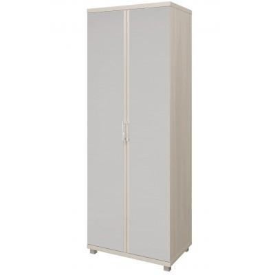 Шкаф распашной Арника 10 «Ирис» Шкаф для одежды 2-х дверный с зеркалом Дуб бодега