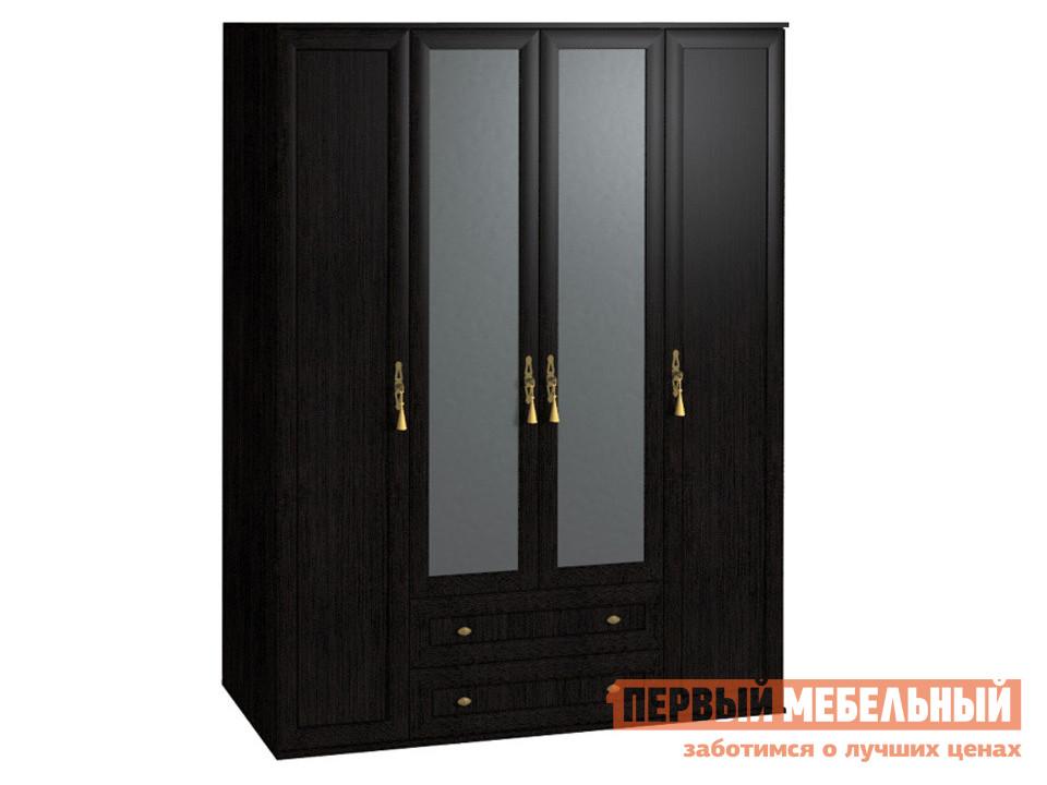 Шкаф распашной 4-х створчатый ТД Арника Милана (спальня) Шкаф для одежды и белья 1 цена