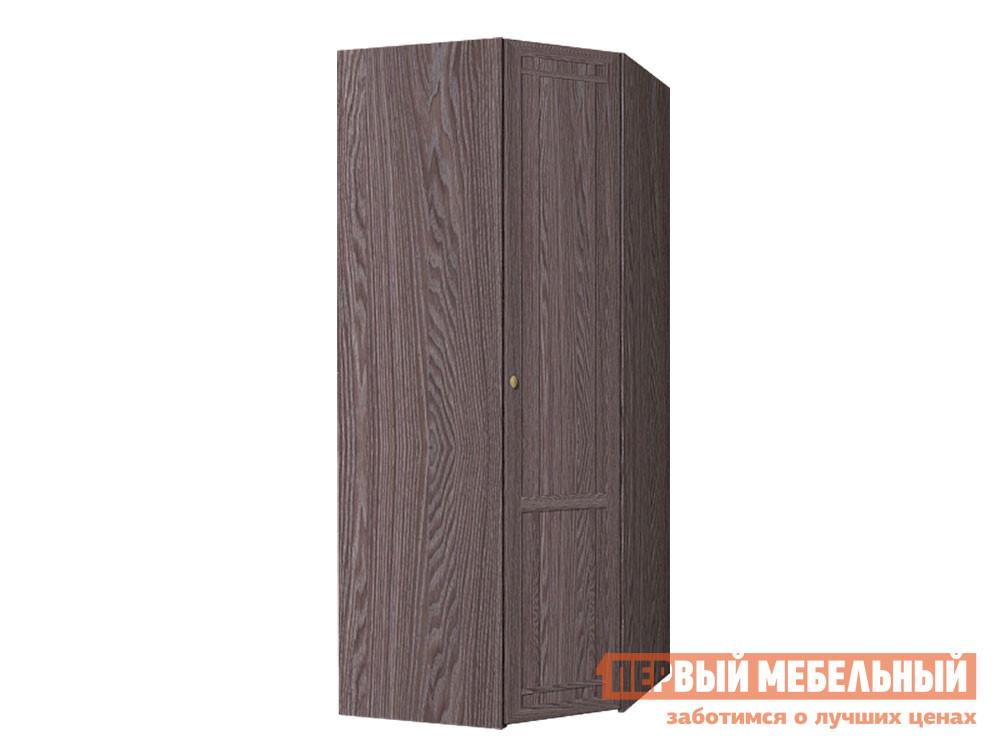 Шкаф распашной  Sherlock 63 (спальня) Шкаф угловой Ясень Анкор темный