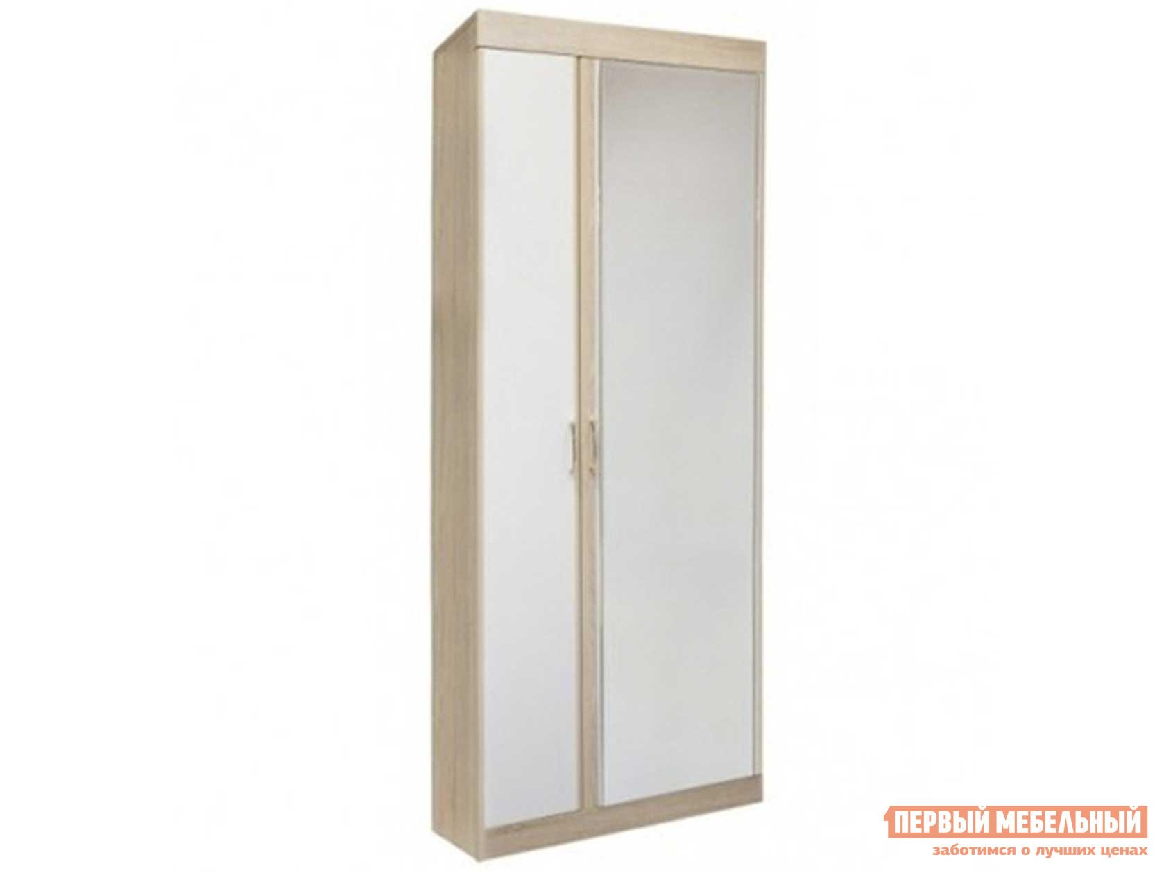 Шкаф распашной ТД Арника Ника Мод. Н1 Шкаф для одежды шкаф угловой тд арника ника мод н5 шкаф угловой без зеркала боковые стороны одинаковые 360 мм