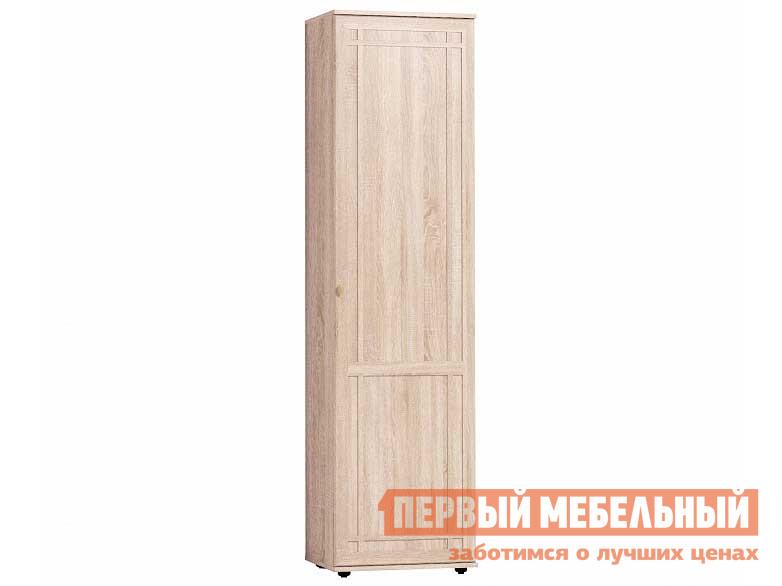 Шкаф распашной  Sherlock 71 (прихожая) Шкаф для одежды и белья Дуб Сонома, Левый