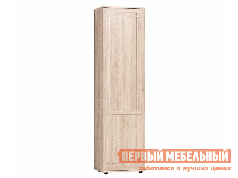 Шкаф распашной  Sherlock 71 (прихожая) Шкаф для одежды и белья Дуб Сонома, Правый