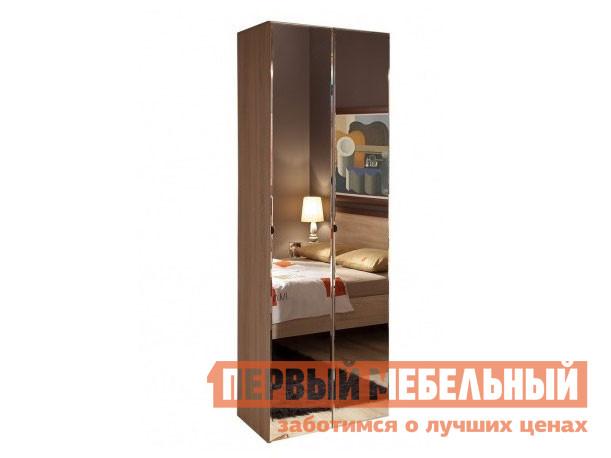 Шкаф распашной ТД Арника BAUHAUS 8 фасады зеркало