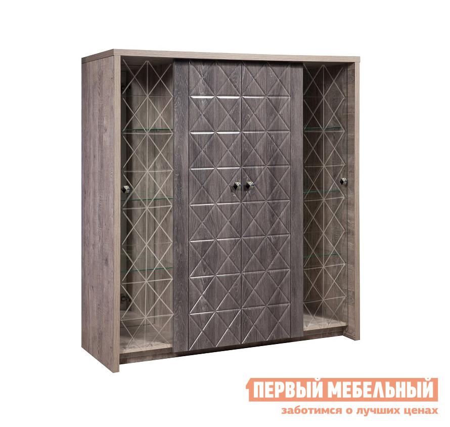 Шкаф-витрина ТД Арника Шкаф комбинированный 4Д Монако КМК 0673.12 free shipping 12pcs lot 30402