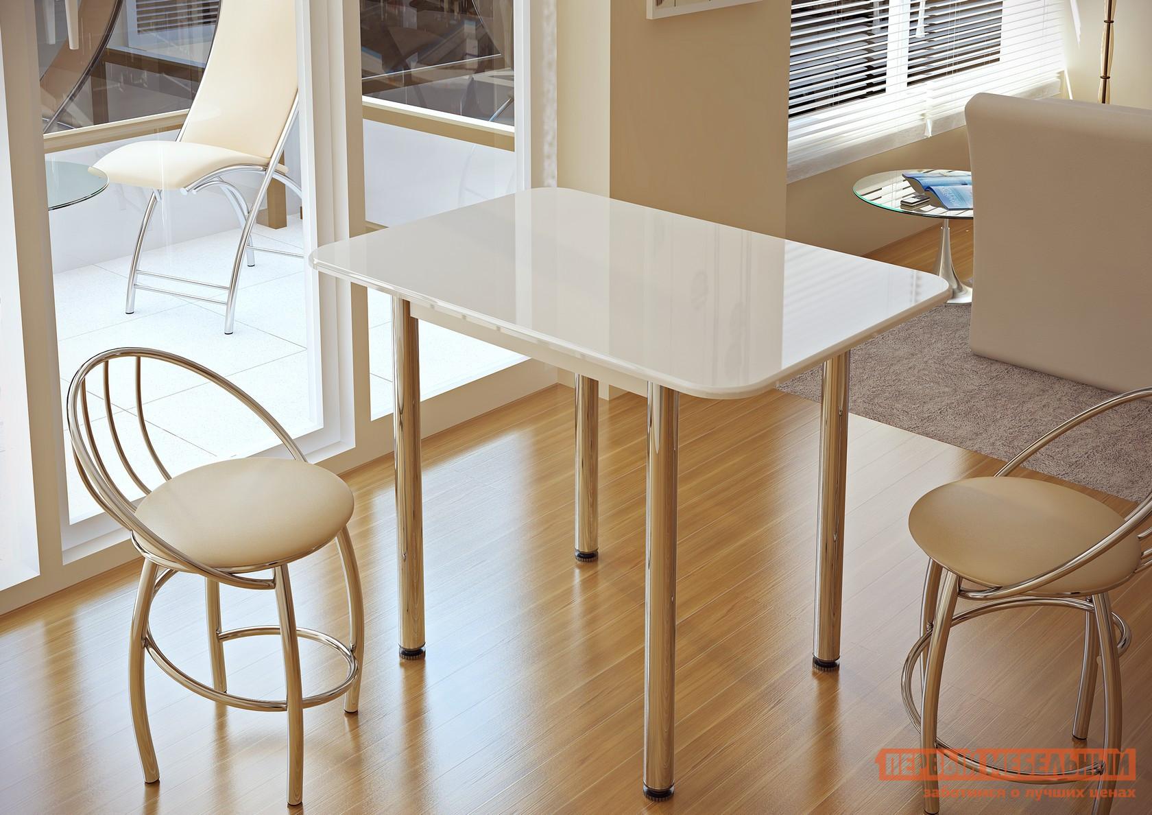Обеденный стол BTS Обеденный стол BTS Белый глянец