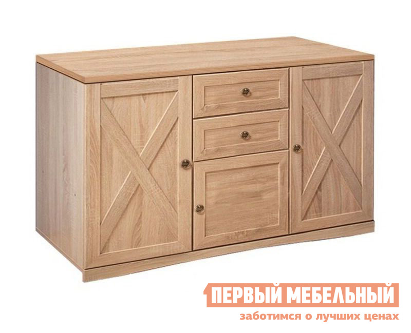 Комод Глазов-Мебель ADELE13 Тумба МЦН Дуб Сонома