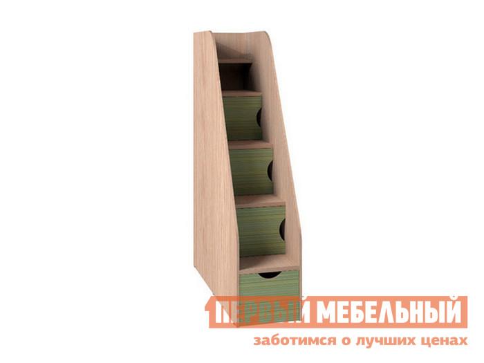 Лестница-комод для двухъярусной кровати ТД Арника Тумба лестница
