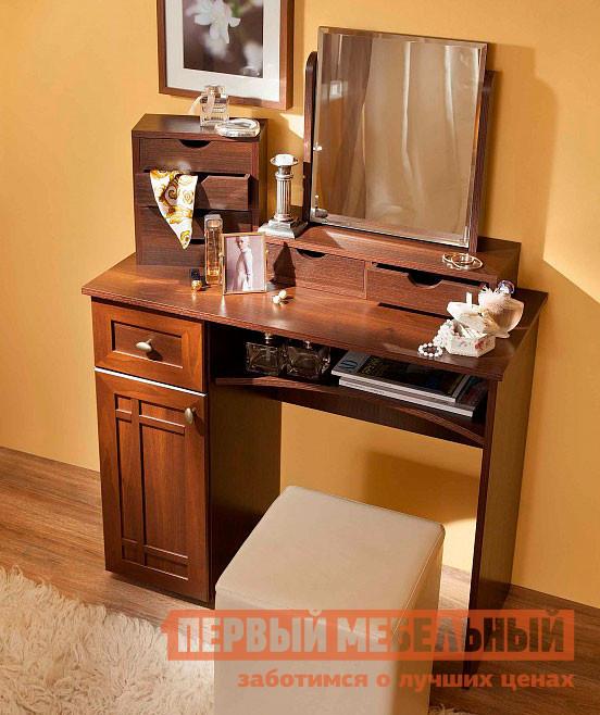 Настенное зеркало  Sherlock 55 (спальня) Трюмо с ящиками Орех Шоколадный