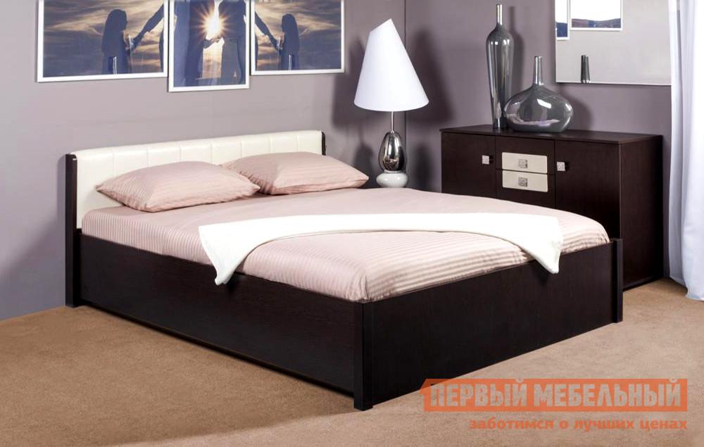 Двуспальная кровать с изголовьем из экокожи ТД Арника BERLIN3x golf 3 td 2011