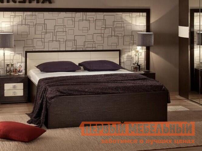 Двуспальная кровать ТД Арника АМЕЛИ x Кровать (деревянные ламели)