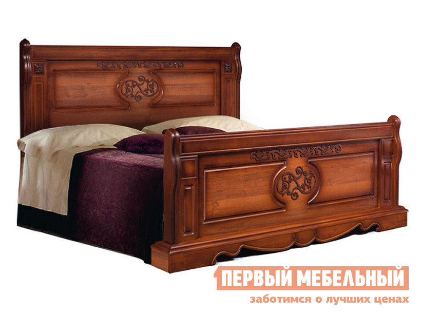 Двуспальная кровать ТД Арника Кровать 1600 Амелия КМК 0435.13