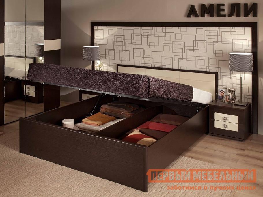 Двуспальная кровать ТД Арника АМЕЛИ x Кровать (подъемный механизм) двуспальная кровать тд арника амели x кровать металлический каркас