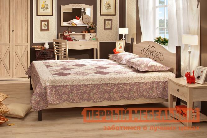 Двуспальная кровать ТД Арника ADELE 2 двуспальная кровать тд арника амели x кровать металлический каркас