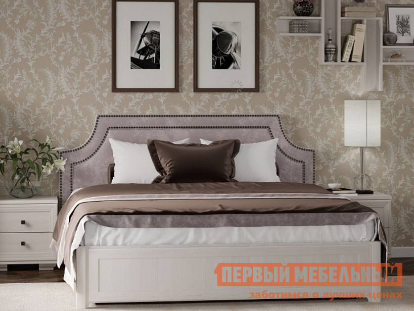 Двуспальная кровать ТД Арника Карина 306/ 307 / 308 с ПМ двуспальная кровать askona grace пм