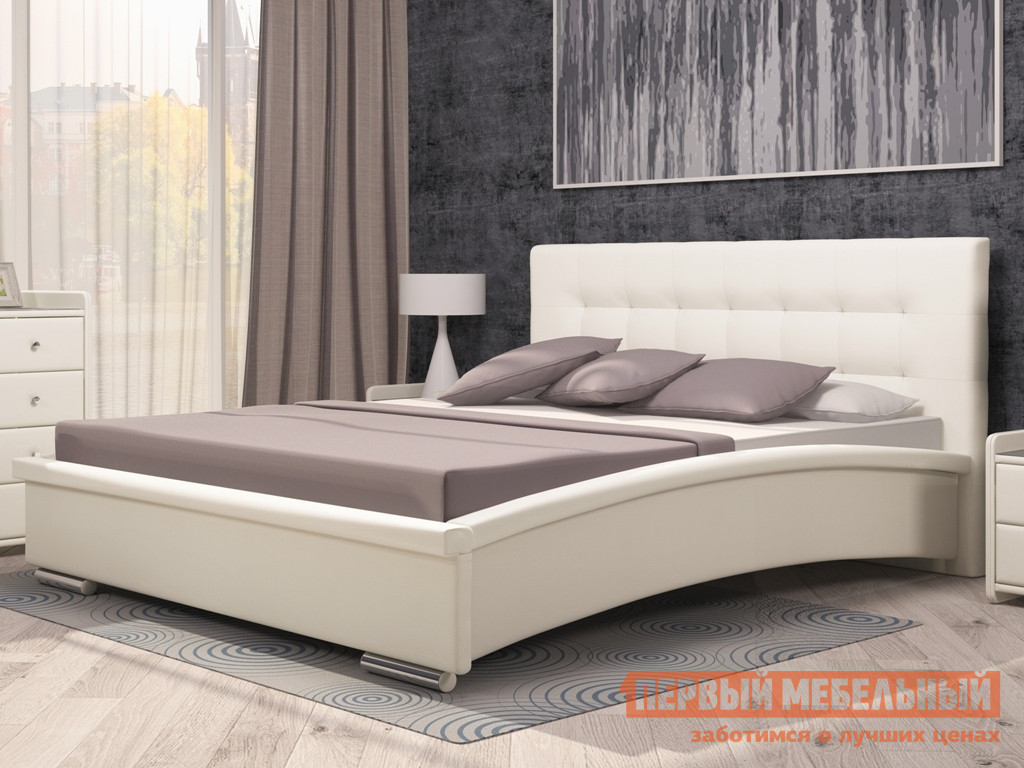 Кровать ТД Арника Луиза стенка витрина луиза 1600