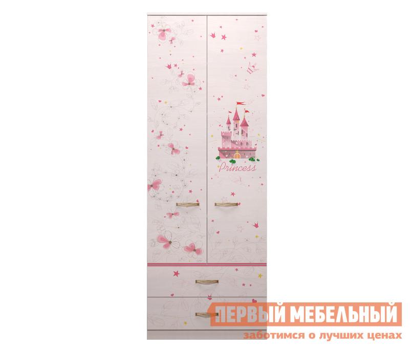 Шкаф для одежды с ящиками ТД Арника Принцесса (20) детская кровать тахта с выдвижными ящиками тд арника ид 01 251
