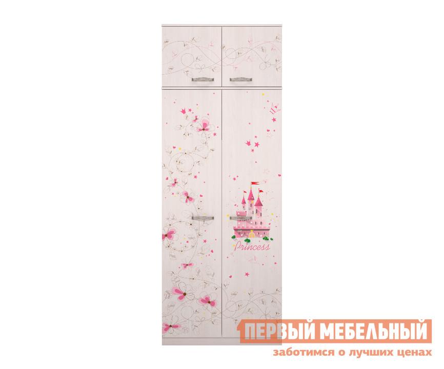 Шкаф для одежды ТД Арника Принцесса (01) / Принцесса (01) + Принцесса (02) шкаф для одежды тд арника принцесса 01 принцесса 01 принцесса 02