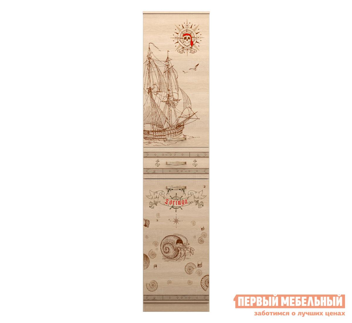 Шкаф-пенал с ящиком ТД Арника Квест (15)