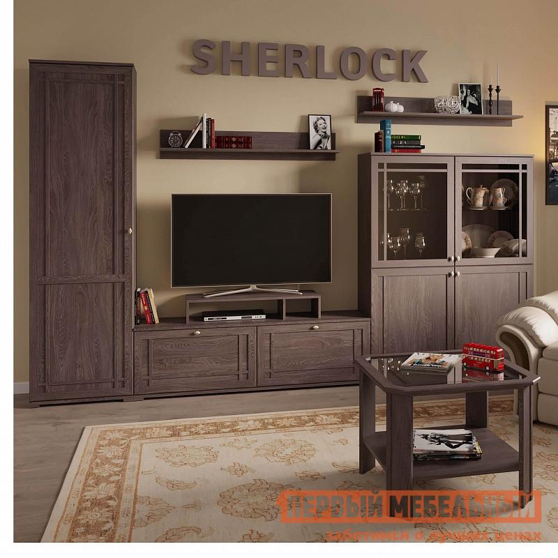 Классическая стенка для гостиной ТД Арника Шерлок К1 стенка для гостиной трия сити тд 192 01 каттхилт тексит