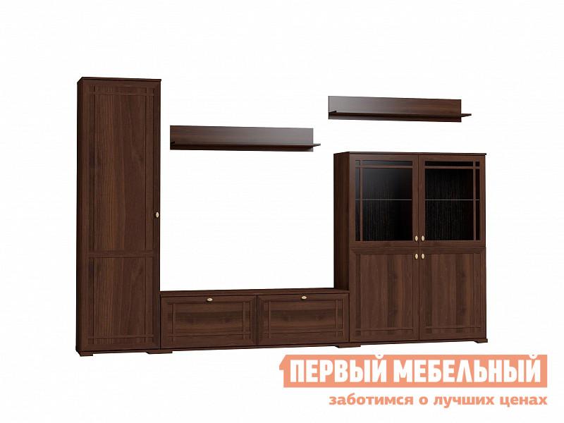 Гостиная  Sherlock 2 (гостиная) Шкаф МЦН Орех Шоколадный