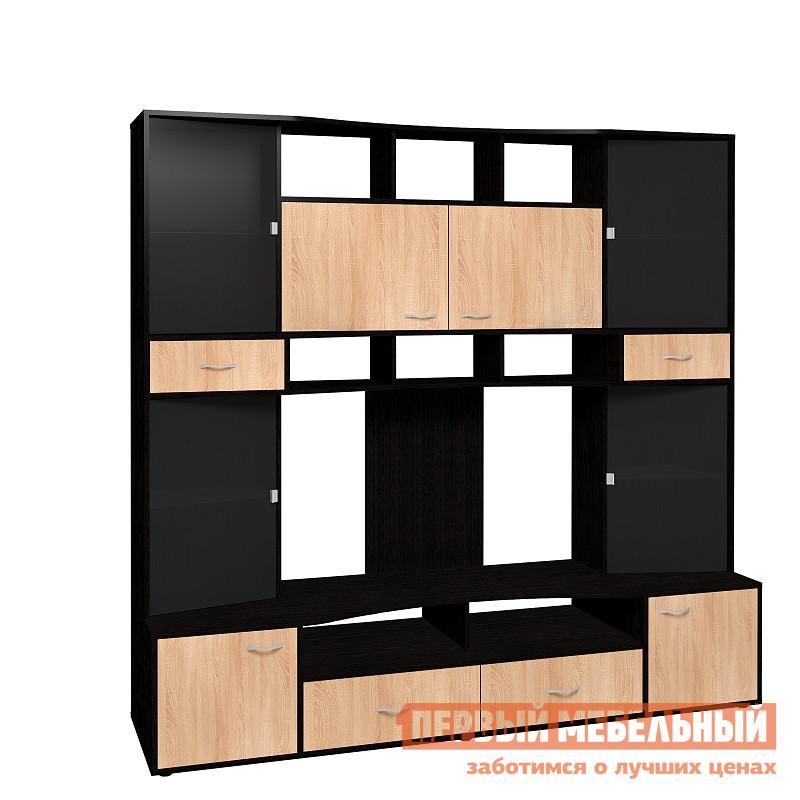 Стенка в гостиную ТД Арника Полина 1 (гостиная) Шкаф МЦН